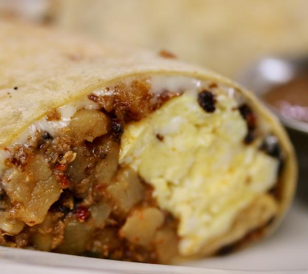 Southwest Breakfast Wrap